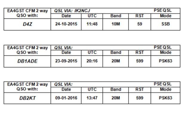 Imprimir etiquetas con ADIF2QSL - Parte 2