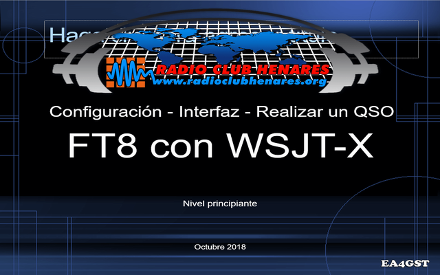 Charla FT8 - Radio Club Henares