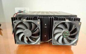 Control de ventiladores por temperatura