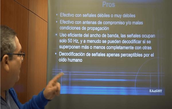 Charla (vídeo) para principiantes - Uso del WSJT-X