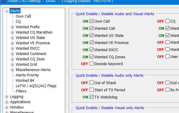 HRD 6.7.0.269 + JTAlert 2.16.3 build 0002 Beta