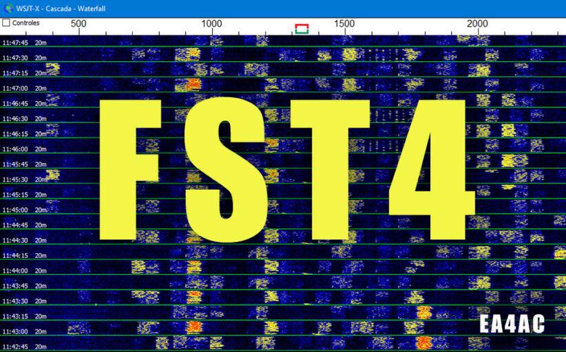 Nuevo modo FST4 - WSJT-X
